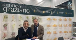 PASTIFICIO GRAZIANO AMBASCIATORE DEL MADE IN ITALY IN GERMANIA